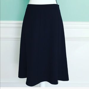 VINCE CAMUTO SKIRT BLACK A LINE CLASSIC MUST HAVE